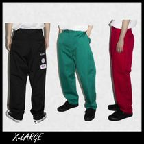 【X-LARGE】全3色 PATCHED WORK パンツ 関税送料込