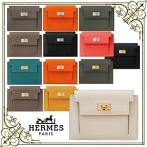 HERMES☆財布 ケリー・ポケット コンパクト 男女OK ギフトに