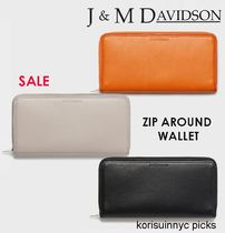 SALE*J&M DAVIDSON*ZIP AROUND WALLET 長財布
