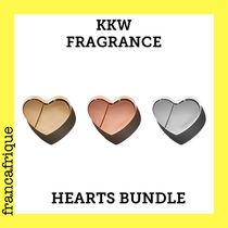KKW FRAGRANCE☆METALLIC HEARTS☆バンドル☆3個セット