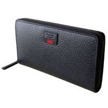 GUCCI(グッチ) Agora Leather Zip Around Black Wallet Unisex