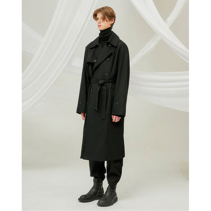 FLARE UP トレンチコート ★FLARE UP★送料込み★正規品★韓国★大人気★over trench coat(12)