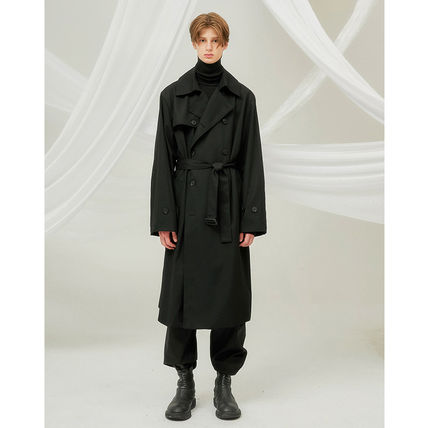 FLARE UP トレンチコート ★FLARE UP★送料込み★正規品★韓国★大人気★over trench coat(11)
