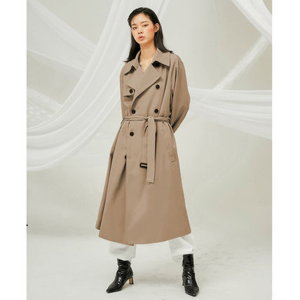 FLARE UP トレンチコート ★FLARE UP★送料込み★正規品★韓国★大人気★over trench coat(4)