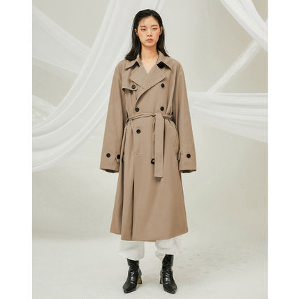 FLARE UP トレンチコート ★FLARE UP★送料込み★正規品★韓国★大人気★over trench coat(5)