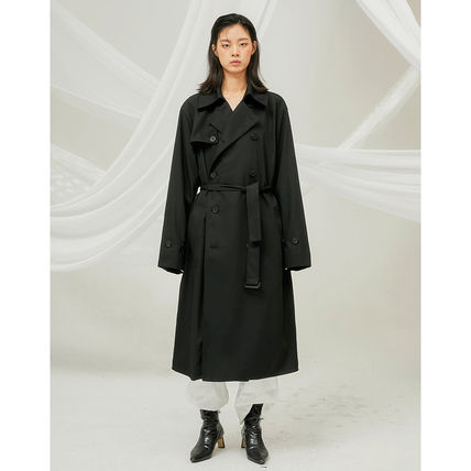 FLARE UP トレンチコート ★FLARE UP★送料込み★正規品★韓国★大人気★over trench coat(13)