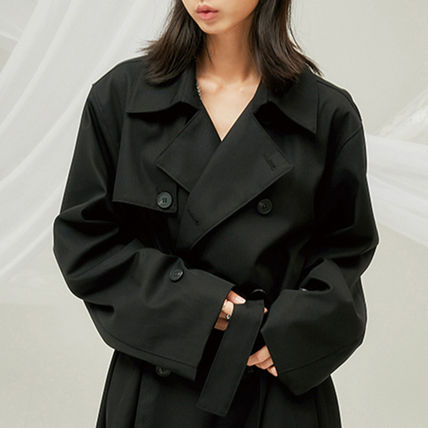 FLARE UP トレンチコート ★FLARE UP★送料込み★正規品★韓国★大人気★over trench coat(17)