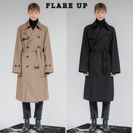 FLARE UP トレンチコート ★FLARE UP★送料込み★正規品★韓国★大人気★over trench coat