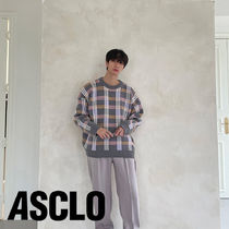 MJ Check Round Knit (3color)