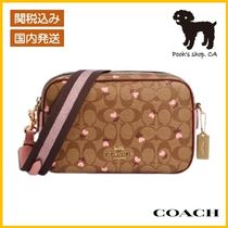 【COACH】Jes Crossbody In Signature Canvas◆国内発送◆