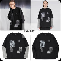 [ FLARE UP ] ★韓国大人気★Patch-work Layered Long Sleeve