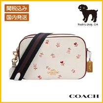 【COACH】Jes Crossbody With Heart Floral Print◆国内発送◆