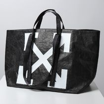 OFF-WHITE トートバッグ WRINKLED COMMERCIAL TOTE