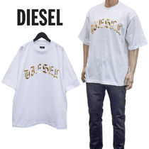 DIESEL メタリックロゴ Tシャツ A01866-0PATI T-BALL-A1-100