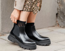 """""""& Other Stories""""新作☆Chunky Leather Chelsea Boots(black)"""