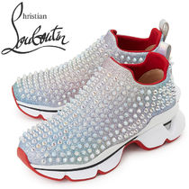 CHRISTIAN LOUBOUTIN★W'S SPIKE SOCK スニーカー 1200875 H216