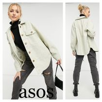 ASOS New Look ボクシーフィットジャケット 〜oatmeal〜