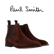 PS PAUL SMITH MENS SHOE GERALD CHOCOLATE ショートブーツ