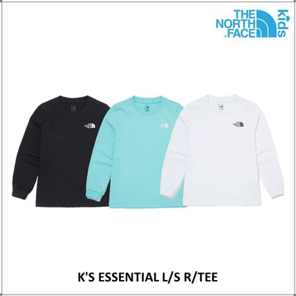 THE NORTH FACE キッズ用トップス [ノースフェイス子供服]K'S ESSENTIAL L/S R/TEE ★新作★人気