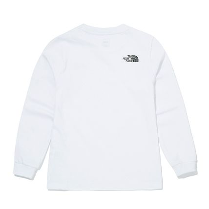THE NORTH FACE キッズ用トップス [ノースフェイス子供服]K'S ESSENTIAL L/S R/TEE ★新作★人気(3)