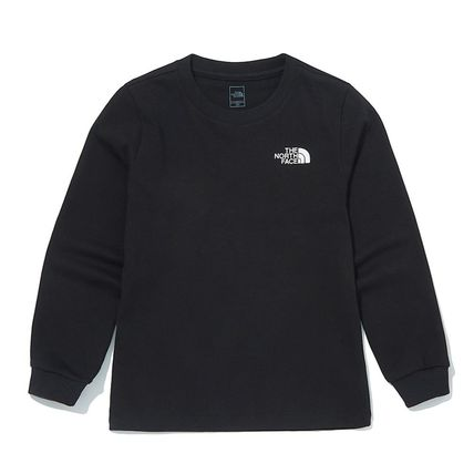 THE NORTH FACE キッズ用トップス [ノースフェイス子供服]K'S ESSENTIAL L/S R/TEE ★新作★人気(7)