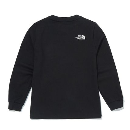 THE NORTH FACE キッズ用トップス [ノースフェイス子供服]K'S ESSENTIAL L/S R/TEE ★新作★人気(8)
