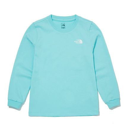 THE NORTH FACE キッズ用トップス [ノースフェイス子供服]K'S ESSENTIAL L/S R/TEE ★新作★人気(12)