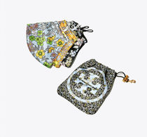 Tory Burch printed face mask 3pc ポーチ付き☆