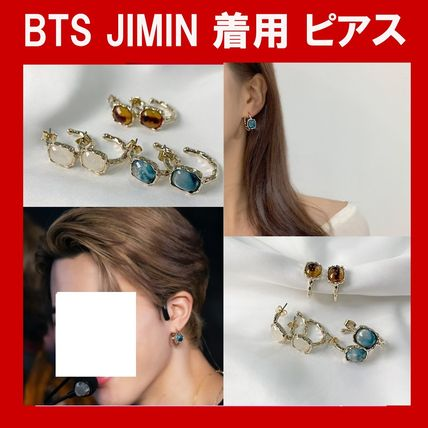 ★BTS JIMIN 着用★ALLDAYRING Dimello Ring Earring ピアス