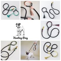 HUNTING PONY☆DOG LEASH PONY MAKARONY ドッグ リーシュ