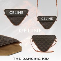 21SS【Celine】TRIANGLE CANVAS BAG TRIOMPHE バッグ