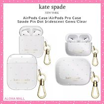 【kate spade】AirPods Case♪AirPods Pro Case♪ピンドット♪