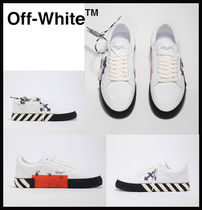 【OFF-WHITE】OFF-WHITE LOW VULCANIZED SNEAKERS ★ 安全配送