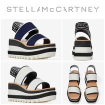 Stella McCartney Fabric Sandal 厚底 サンダル 2色