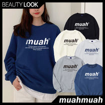 【muahmuah】 SIGNATURE GRAPHIC MTM 5色★スウェット