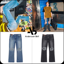 ANDERSSON BELL(アンダースンベル) デニム・ジーパン [ANDERSSON BELL]★限定販売★DESTROYED BOOTS CUT JEANS