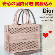 関税送料込国内発送★Dior Shopper Book Tote Small aus Mesh