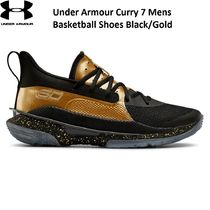 【UNDER ARMOUR】Curry 7 Basketball Shoes Black/Goldカリー7