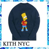 KITH NYC x SIMPSONS KNIT SWEATER ○関税・送料無料○