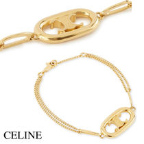 CELINE MAILLON TRIOMPHE BRACELET IN BRASS WITH GOLD FINISH