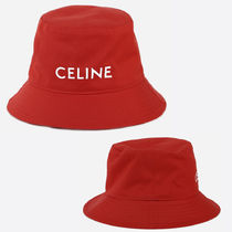 CELINE BUCKET HAT IN COTTON