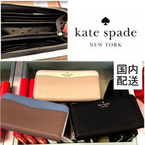 kate spade☆leila colorblock large continental wallet☆送込