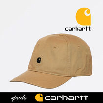 SALE【Carhartt】ロゴ キャップ Leather / 送料無料