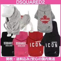D SQUARED2(ディースクエアード) ペット(犬猫)服 【D SQUARED2】D2 X POLDO HOODIE