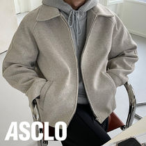 [ASCLO MADE] ASCLO Wool Melange Jacket