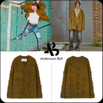 ANDERSSON BELL(アンダースンベル) カーディガン [ANDERSSON BELL]★JACQUARD HEAVY OVERSIZED CARDIGAN