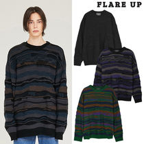 ★FLARE UP★送料込み★正規品★大人気★4mix over knit Sweater