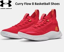 【UNDER ARMOUR】Curry Flow 8 Basketball Shoesカリー8レッド