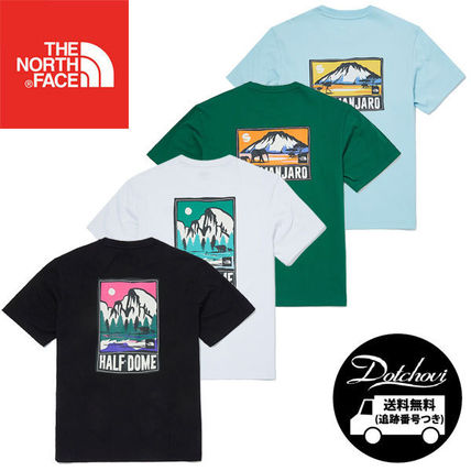 THE NORTH FACE Tシャツ・カットソー THE NORTH FACE GREEN PARK S/S R/TEE MU1950 追跡付