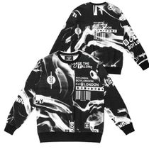 BOY LONDON★EAGLE LOGO PRINT SWEATSHIRT / 最後の在庫特価割引